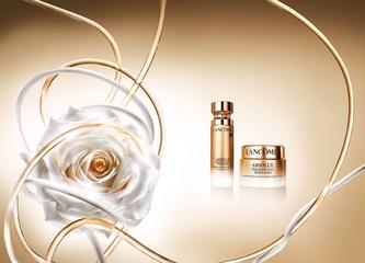[限量] LANCOME全新【絕對完美極淨鑽白系列】珍稀鑽白牡丹與法國白玫瑰,東西方花中之王的純白花朵力量
