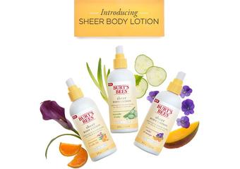 BURT`S BEES【好輕新乳液系列】原來,乳液可以這麼輕
