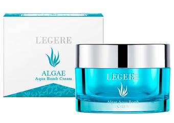 L'egere - 「藍藻保濕炸彈霜」保濕霜天后 猶如肌膚加濕器