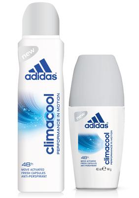 adidas - 動感香氛制汗爽身系列 獨家微膠囊科技 持續一整天清新乾爽