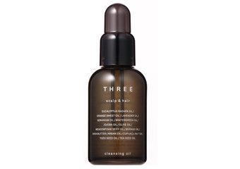 THREE - 頭皮專用潔膚油誕生。豐盈美髮新習慣