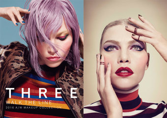 THREE - WALK THE LINE 2016 A/W MAKEUP COLLECTION