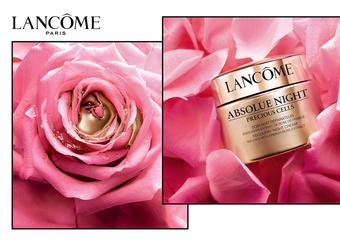 蘭蔻 - 珍稀雙玫瑰金緻傳奇 2X極致修護力 「絕對完美雙玫瑰修護晚霜」成就頂級玫瑰奢華保養之最