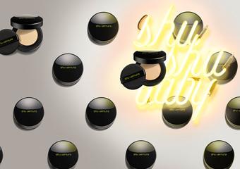 植村秀 - 一拍柔焦 亮出微霧光 首創吸油氣墊 全新「輕裸柔霧氣墊粉餅 SPF38/PA++++」