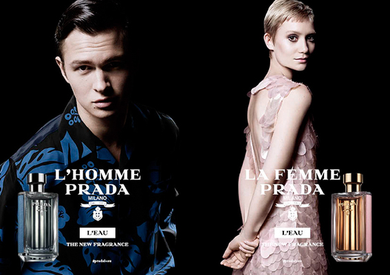 Prada - 兩款全新精緻男女香氛「La Femme 纓粉淑女」「L'Homme 蔚藍紳士淡香水」全台正式上市