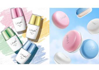 SUGAO - 美少女肌風潮再度來襲 可愛新妝上市!8月屈臣氏獨家販售