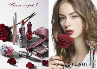 JILL STUART - 鮮豔色彩及霧面質感的秋季彩粧 【Kisses on petal】