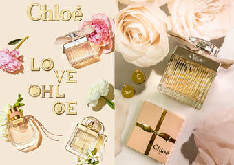 Chloé  - 為情人打造專屬刻字獻禮 │ Chloé 香氛概念店即日起獨家贈送客製金屬掛飾服務
