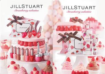 JILL STUART - 2019年2月初戀雪苺限定 宛如奶霜般輕盈,塗抹一次即能飽和顯色 使雙唇膨潤有光澤的唇釉