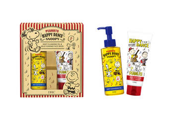 DHC - Snoopy史努比洗卸淨膚組限定版 史上最萌潔顏雙拍檔 找回肌膚最開心的洗臉時光