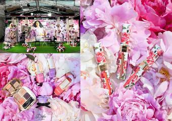 DOLCE&GABBANA - 繁花似錦的牡丹花園 於唇、頰、眼、指尖 一次完美盛放譜出春天恬蜜的羅曼史