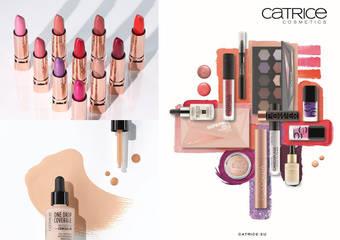 Catrice - 引領彩妝時尚潮流 德國彩妝品牌 Catrice 全新推出多款百變商品,讓你玩出美麗新高點 盡情揮灑獨有美感,耍美毫無極限