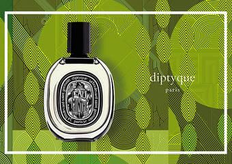 diptyque - 第一支薰苔調香氛「青蕨淡香精」,訴說著薄荷成為經典香氣的一場神話夢境
