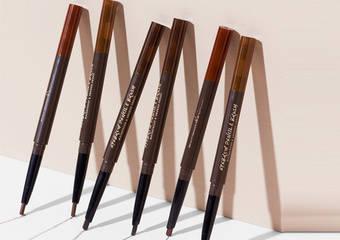獨特三角筆芯  點、線、面勾勒完美眉型 小圓刷刷頭 輕鬆梳理眉型和均勻眉色
