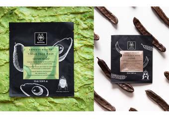希臘第一大藥妝品牌APIVITA 聯手植物界2大傳奇 「黑色鑽石」地中海角豆與「超級食物」酪梨 1淨化 2舒緩  輕鬆2步驟  夏日煥膚術