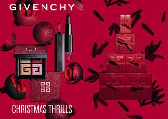 2019限量聖誕彩妝系列【紅色霓光】 沉醉在絢爛迷人的聖誕紅色霓光之中…