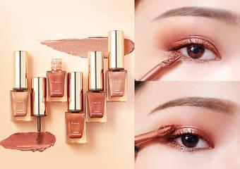 「綻光眼影蜜」全新上市 專為亞洲人打造,完美服貼不積線、不顯泡泡眼!