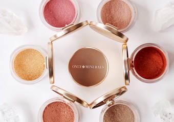 純淨礦彩粉、礦物晶透唇蜜秋冬新色以大地產物為用色靈感