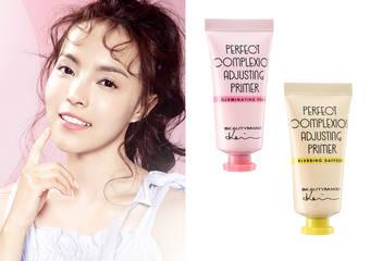 一抹就平整  一擦就明亮 一塗就粉嫩 粉體校正膚色  由外而內 提升皮膚健康與質感