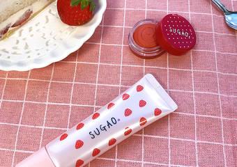 粉紅草莓系彩妝 讓人忍不住想咬一口! SUGAO甜莓派對限定組全新發売