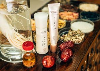 給肌膚最好的「升級版紅蔘+紅棗精華」添加入「美活肌精華」及「第19代乳霜20」