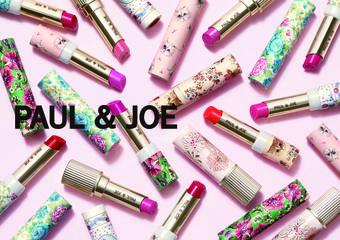 想要溫柔可愛?還是想高貴霸氣?PAUL & JOE 2020春季唇妝貓系小姐姐 #糖霜玫瑰色高傲美艷 #辛辣豆沙色 要變JOE變 全新上市