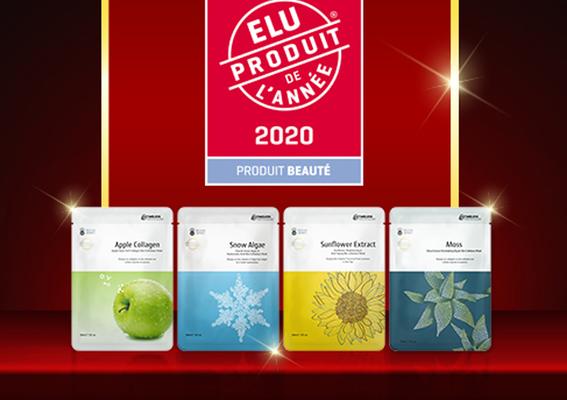 台灣之光!「國際級面膜專家-提提研」榮獲2020 Élu Produit de l'Année法國年度創品美容大獎
