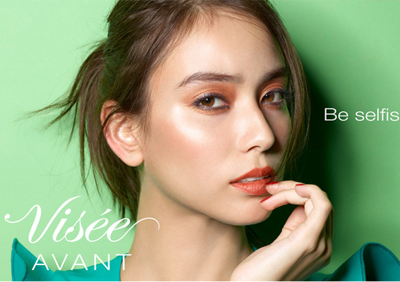 盡情享受時尚 每天變換不同的粧容 豐富色彩與質感的彩粧品系列