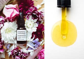 頂級SPA專用 輕熟肌齡的第一瓶臉部保養油 Elemental Herbology 洋甘菊玫瑰修護舒緩油 10/10HOPE全台門市與官網全新上市