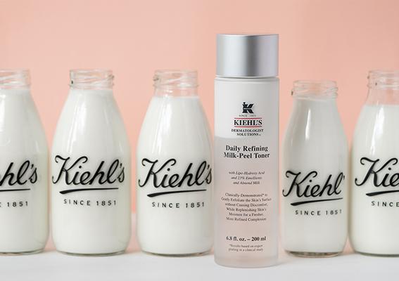 超越保養極限!首創 #雙層牛奶淨膚 「1搖2擦3拍」淨膚+保濕一次完成  打造無瑕光潤牛奶肌