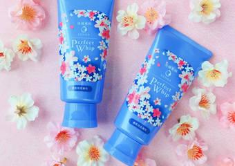 「超微米潔顏乳(櫻花繽紛版)」殿堂級濃密泡泡 溫和洗淨給妳淨透素顏肌