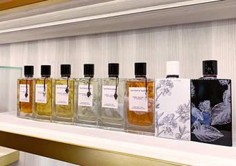 梵克雅寶 珠寶花園 頂級奢華氣息 快閃店進駐板橋大遠百 指定門市限量推出訂製浮雕專屬瓶身