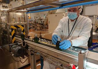 法國歐舒丹集團投入新冠肺炎防疫! 工廠轉生產乾洗手 全力以赴支持醫護人員