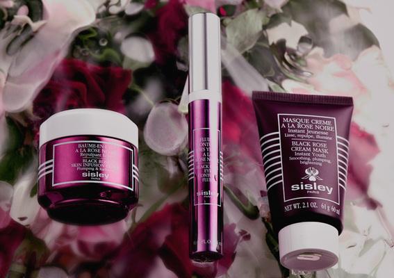 夏日輕保養 肌膚涼感奢養 Sisley 頂級黑玫瑰系列 水感玫瑰精露 肌膚水潤澎彈 綻放明亮活力