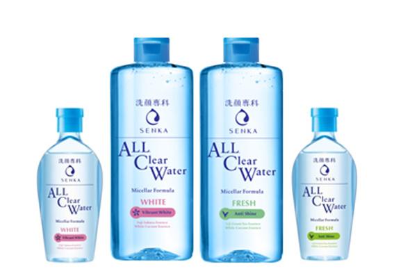 重量級人物初登場!  專科超微米卸粧水 增量的清爽淨透