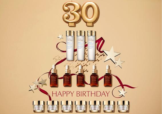引領全球美妝指標 雅詩蘭黛進駐台灣30週年! 歡慶雅詩蘭黛超級品牌日 回饋粉絲支持