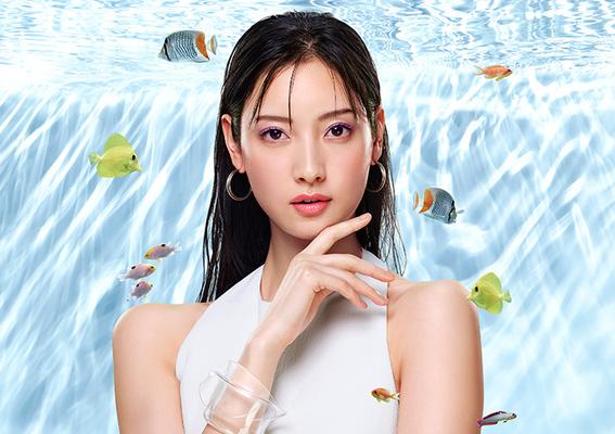 「夏日水族館」口袋彩妝 水光閃閃、耐汗水、清透顯色  Aqua Shine  #Mini Collection