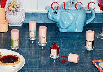 隆重呈獻Gucci秀色在握指甲油 為Gucci Beauty仲夏系列掀起序幕