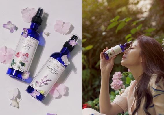 純天然花卉蒸餾保濕聖品「純露花水」新亮相!迷人香氣寵愛自己,夏日補水隨身必備