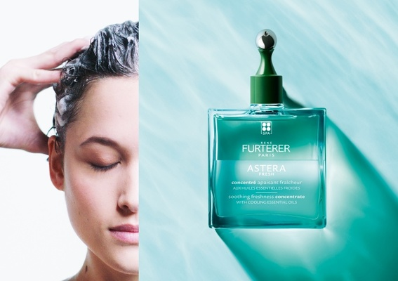 頭皮舒緩淨化2.0!新一代「ASTERA紫苑草頭皮舒緩精油」超激活按摩冰珠新上市