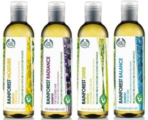 [新品] The Body Shop 環保意識 「Rainforest Hair環保雨林專業護髪系列」全新上市
