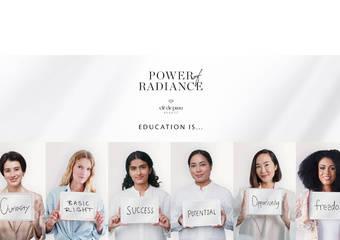 號召全球光采女力 首次零距離落實女童教育推動的承諾