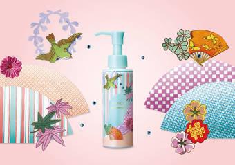 「MCO速淨卸粧液-和紙拼貼藝術版」感受日本No.1的極致卸粧魅力 全台限量上市
