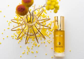以「花」養顏 駐顏有「樹」 Dr.Cink 2021保養最新神作「千日菊黃金音波安瓶」