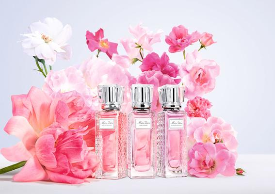 2021全新「Miss Dior漫舞玫瑰親吻淡香水」隨身優雅著香 浪漫氣息時刻隨行