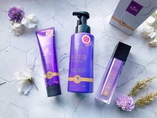高效能養髮又能療癒潔淨身心靈,沙龍級別 紫瓶奇肌 「舒敏+調理 髮浴露」一步輕鬆養成閃亮肌膚!