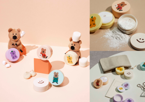 「無油無慮礦物控油蜜粉」Dinotaeng限定版 2021年4月1日 韓國&台灣 同步限量上市