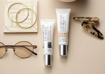 極清爽 超防禦 皮膚更透光!CLINIQUE 倩碧史上最強防曬露「勻淨UV超防禦潤色水凝露」