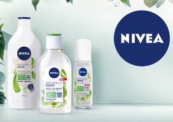 高達95%天然萃取 肌膚無負擔 妮維雅【純萃保養天然有機系列】全新上市!