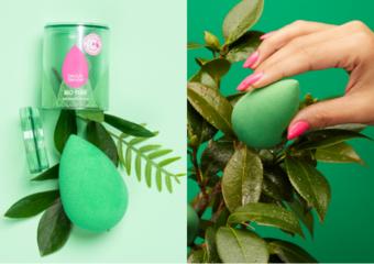 再次超越自我 獨創植物系美妝蛋! 環保可再生綠能科技 60%天然甘蔗成分製成